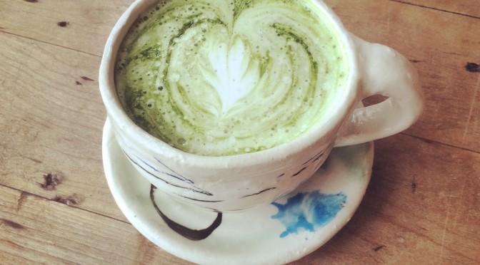 Genmai-cha latte 2.70